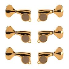 Gotoh Midsize 510 3+3 Tuners with Metal Knobs, Gold