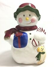 The Cellar Holiday Snowman Cookie Jar