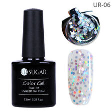 7.5ml UR Sugar UV Gel Nail Polish Soak Off Glitter Color Gel Nails Manicure DIY