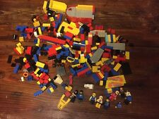 Vintage 90's / 2000's Lego / Mega Blocks Lot Boat / Construction Equipment