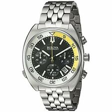 Bulova Men's 'Snorkel' Quartz Stainless Steel Watch