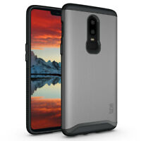 TUDIA Slim-Fit MERGE Dual Layer Protective Cover Case for OnePlus 6