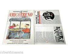 Speciale MISTER NO NICK RAIDER su AMICO TRENO n. 1 1996 rivista Claudio Nizzi