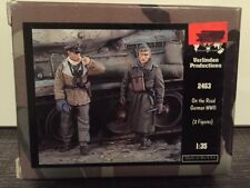 VERLINDEN Productions On the Road German WWII 2 Figures 1:35 Scale Item #2463