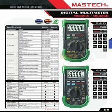 MASTECH MS8268 Digital DMM AC DC Voltage Multimeter Test Capacitance Mesurement