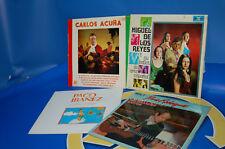 vinyl Batch of 4 LPS Vinyl discs CARLOS COINED-MIGUEL'S THE KINGS-PACO IBANEZ