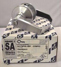 "PDQ COMMERCIAL LOCKSET SA-176 PHL PRIVACY 2 3/4"" BACKSET ASA STRIKE SCHLAGE 26D"
