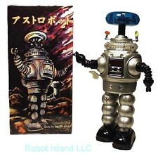 Lost in Space Robot Tin Toy Windup YM-3 Silver