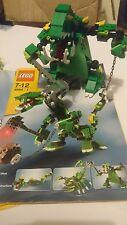 LEGO 4894 Creature Mitiche 8 in 1 Set Creator Drago Mattone LUCE 100%