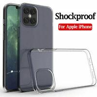 Hülle für iPhone 12 Pro Silikon Schutzhülle Handyhülle TPU Tasche Klar Slim DE