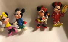 Lot Of 3 Disney Minnie Mouse Figurines 2 1/8� Toys