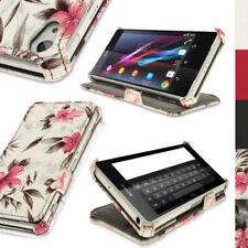 Custodie preformate/Copertine Per Sony Xperia Z in pelle sintetica per cellulari e palmari