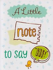 A Little Note To Say Hi For Her For Him Blank Note Card Greeting Card