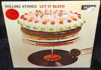Rolling Stones Let It Bleed Sealed Vinyl Record Lp Album Import 1977 Decca Color
