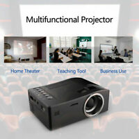 2019 Mini Portable Projector 1080P LED Video Projection Machine for Family Home