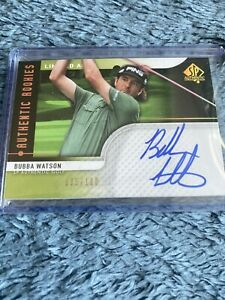 Bubba Watson 2012 SP Authentic Limited Auto /100