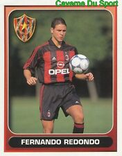 231 FERNANDO REDONDO ARGENTINA AC.MILAN FIGURINE STICKER CALCIO MERLIN 2000-2001