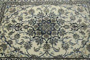 Wunderschöner Perserteppich  Nain mit Seide ( 234 X 168 Cm ) Orientteppich  Neu