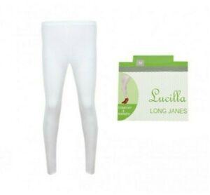 New Womens Lucilla Thermal Long Length Warm Winter Long Jane Legging Bottoms
