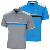 Island Green Mens Moisture Wicking Quick Drying Golf Polo 40% OFF RRP