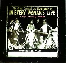 Magic Lantern Slide Silent Movie, In Every Woman's Life - 1924