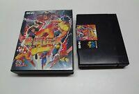 Sengoku Denshou 2 SNK Neo-Geo AES Japan GOOD (no manual)
