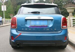 Stainless steel Tail Rear Trunk Lid Cover Trim For Mini Cooper Countryman F60
