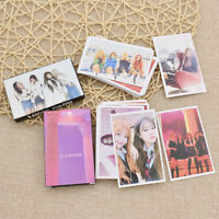 Kpop Blackpink Lomo Card Fans Welfare Album Card Fashion Hardcover Photocard