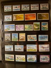 Papua New Guinea Aircraft & Aviation Stamps Lot of 29-MNH-See Details for List