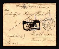 Germany 1916 POW Cover / ROTHB. NURNBERG CDS - Z14466
