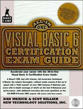Visual Basic 6 Certification Exam Guide (Bootcamp All-in-one Certification)-New