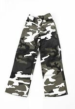 Draggin Jeans Kids Classic Camo Urban Kevlar Motorcycle Trousers New RRP £89.99
