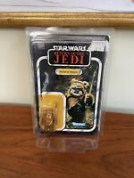 Vintage Star Wars ROTJ  Wicket W. Warrick MOC 77-back Read Description