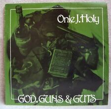 ONIE J HOLY - God Guns & Guts 1986 OZ ALT BLUES ROCK -  AU GO GO LP