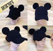 Adult Mickey Mouse Ears Baseball Cap! (Snapback) HANDMADE