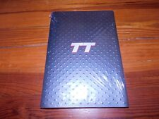 2001 AUDI TT MODEL INTRODUCTION PRESS RELEASE PACKET BOOK BROCHURE WITH CD-ROM