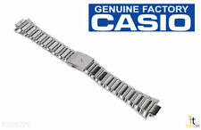 Watch Band Amw-700D w/ 2 Pins Casio Amw-700D-7A Original Factory Stainless Steel