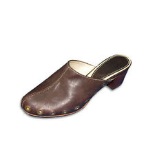 35f7d0a9c762 Pedro Miralles Brown Leather Clog Style Mule