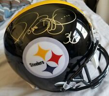 Jerome Bettis Autographed Full Size Replica Helmet Steelers JSA COA
