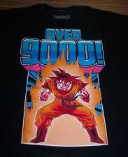 "DRAGONBALL Z GOKU ""OVER 9000"" T-Shirt XL NEW"
