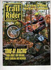 Trail Rider Motorcross Magazine December 1999 Ktm Tons of Racing