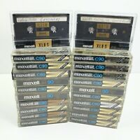 LOT of 22 Maxell Cassette Tapes - PRE-RECORDED - (20) UDXL II C90 & (2) XL II S