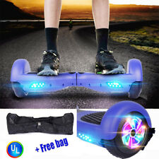 """6.5"""" Hoverboard SelfBalancing Smart Electric Scooter Ul 2272 Certified Led Kid"""
