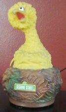 VIntage Sesame Street Big Bird  AM 9V Transistor Radio with Strap