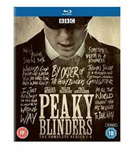 Peaky Blinders Complete Season 1 2 3 4 5 Blu-ray Set Region B Crime Series BBC