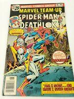 Marvel Comics Team Up SPIDER-MAN AND DEATHLOK #46 June 1976