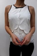 Maglie e camicie da donna in seta con girocollo taglia 42
