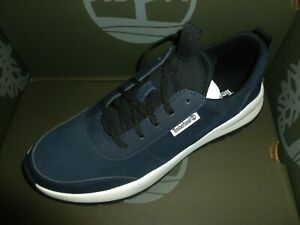 TIMBERLAND TRAINERS SUEDE/LEATHER BOROUGHS PROJECT DARK BLUE NEW BOXED