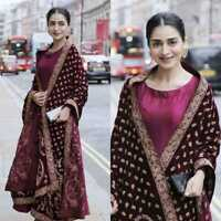 INDIAN PARTWEAR ANARKALI DRESS WOMEN SALWAR KAMEEZ SUIT SHARARA PLAZZO PAKISTANI