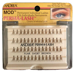 New Andrea Perma Lash 56 Individuals Flair Short Brown Lashes